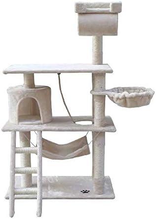 I Pet 141cm Cat Scratching Post Beige Amazon Com Au Pet Supplies