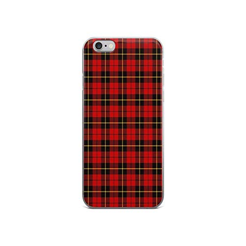 iPhone 6 Case iPhone 6s Case Clear Anti-Scratch Clan Wallace Tartan, Wallace Cover Phone Cases for iPhone 6/iPhone 6s, Crystal Clear -