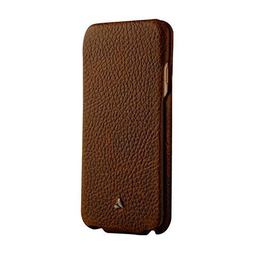 Vaja Cases Top iPhone 7 Leather Case - Magnetic Closure - Full Leather Protection - Floater Durango / Cat Birch.