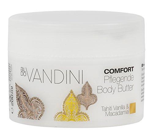 aldoVANDINI COMFORT Pflegende Body Butter  - Körpercreme, Bodylotion, vegan