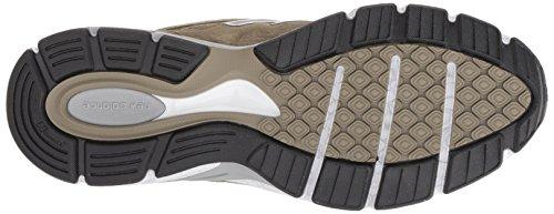 New Balance Men's 990v4 Running Shoe, Covert Green/White, 7 D US by New Balance (Image #3)