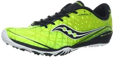 Saucony Men's Shay XC3 Spike Cross-Country Shoe,Citron/Black,12 M US