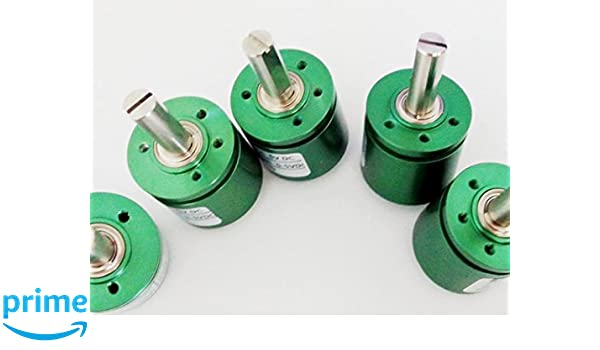 CALT 360 Degree 22mm Outer 6mm Shaft Hall Effect Potentiometer Angle