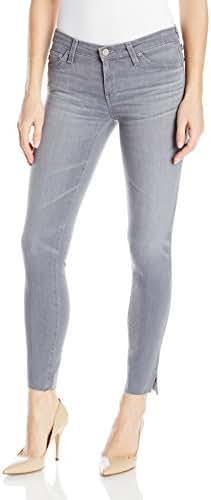 AG Adriano Goldschmied Women's Grey Legging Ankle Jean