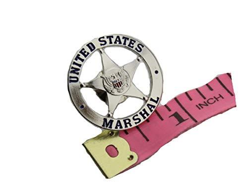 US Marshal Lapel Hat Pin-Silver