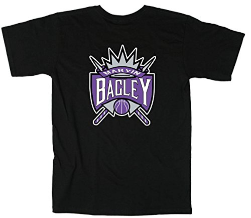 Kingston Shirts Black Bagley Sacramento Old School Logo T-Shirt Adult