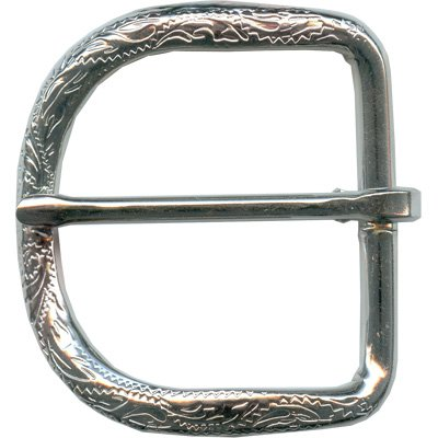 - Alamo Engraved Buckle and Keeper (Buckle 1 1/2