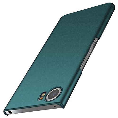 Avalri BlackBerry Keyone Case, Ultra Thin Anti-Fingerprint and Minimalist Hard PC Cover for BlackBerry Keyone (Matte Green)