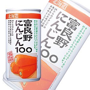 JA Furano Furano carrot 100 [carrot, carrot] can 190gX30 pieces [X2 case: a total of 60]