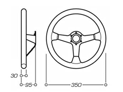 Od/2028/N omp Motorsport de fibra de carbono carrera volante ...
