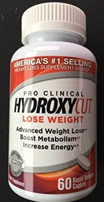Hydroxycut Pro Clinical Weight Loss Formula 60 caps