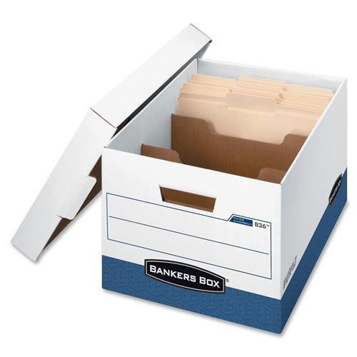 (83601 Bankers Box R-Kive Divider Box - Stackable - Medium Duty - External Dimensions: 12.8
