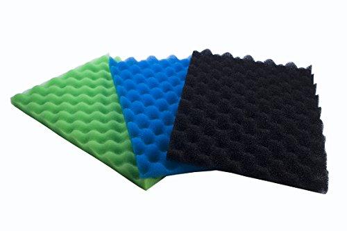 LTWHOME 1 Set Fish Pond Foam Filters fit for Lotus Green Genie 12000