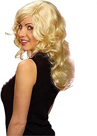 WIDMANN b0917 – Mujer peluca de pelo largo brandy, talla única adultos en caja,