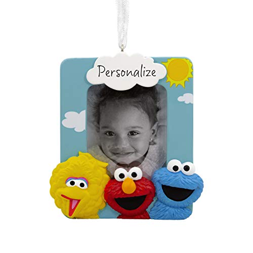 Hallmark Christmas Ornaments, Sesame Street Personalized Picture Frame Ornament