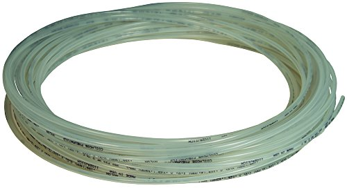 Dixon 1025P0800 Nylon/Brass 25 m Metric Tubing 8 mm OD, 6 mm ID, 1 mm Wall, 350 psi, 82', 0.32