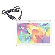 "DURAGADGET câble de synchronisation USB - micro USB pour tablettes tactiles Samsung Galaxy Tab S 10.5"" Wi-Fi (SM-T800) et 4G & Wi-Fi (SM-T805) Android 4.4 Kitkat"
