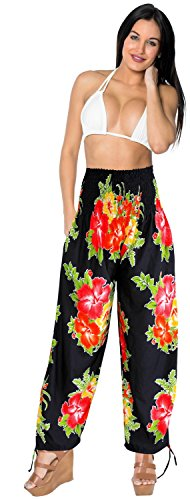 beach-high-elastic-waist-ankle-length-pull-on-lounge-palazzo-pants-work-red-spring-summer-2017