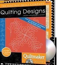 Electric Quilt Quiltmaker Volume 6 Printable Quilting Stencils CD-ROM by The Electric Quilt Company