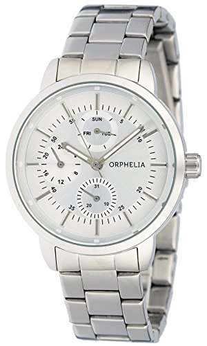 Orphelia Women's Watch Analogue Quartz Luminous Hands Silver Stainless Steel Strap Dial Color Silver