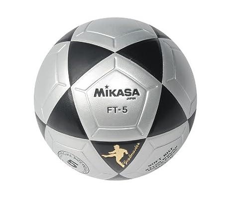 Mikasa FT5 Meta Maestro Pelota de fútbol (Negro/Blanco, tamaño 5 ...