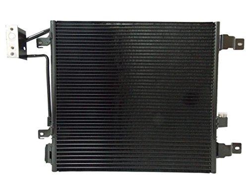 Condenser Wrangler A/c Jeep (AC A/C CONDENSER FOR JEEP FITS WRANGLER V6 3.8 3768)