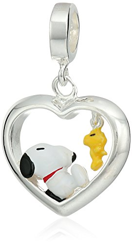 Persona Sterling Silver Beads and (Snoopy And Woodstock Charm)