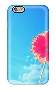 Heidiy Wattsiez's Shop Best Tpu Shockproof Scratcheproof Pink Gerbera Flower Hard Case Cover For Iphone 6