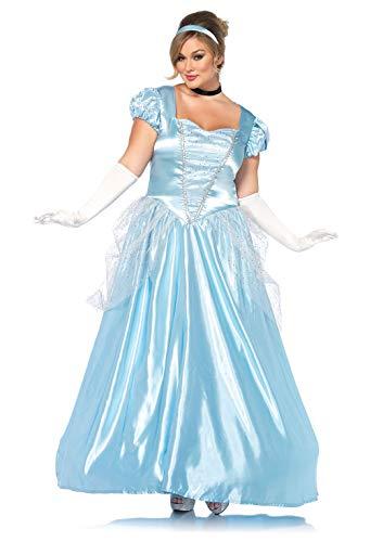 Halloween Princess Costumes For Women - Leg Avenue Women's Costume, Blue, 3X
