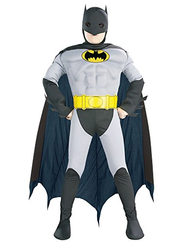 (Super DC Heroes Deluxe Muscle Chest The Batman Child's)