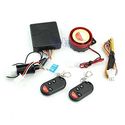 Amrka Motorcycle Bike Alarm System Anti-theft Security Remote Engine Start Immobiliser