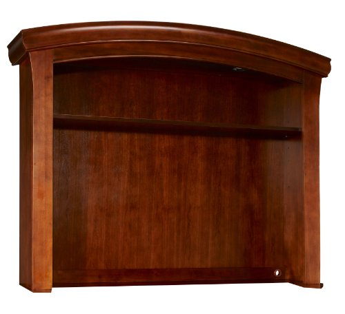 Westwood Design Stratton Hutch with Touchlight,Virginia Cherry (Stratton Dresser)