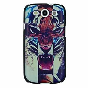 HJZ The Roaring Tiger Pattern PC Hard Back Cover Case for Samsung S3 I9300