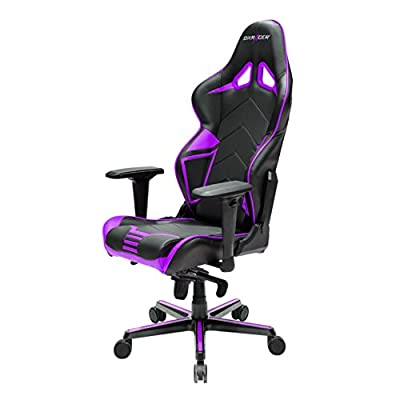 DXRacer Racing Series DOH/RV131 Office Chair Gaming Chair Carbon Look Vinyle Ergonomic Computer Chair eSports Desk Chair Executive Chair Furniture with Free Cushions by DXRACER USA LLC
