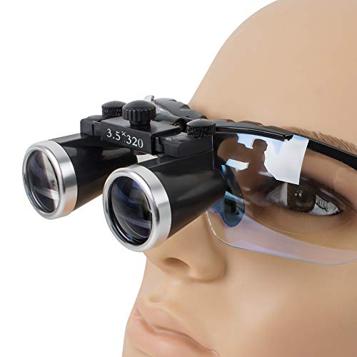 Pevor Dental Surgical Medical Binocular Loupes 3.5X 320mm Optical Glass Loupe