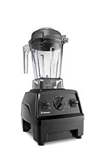 Vitamix E310 Explorian Blender, Professional-Grade Container, Self-Cleaning 48 oz, Black