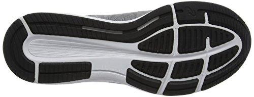 Asics Roadhawk FF, Scarpe da Ginnastica Uomo Grigio (Aluminum/Black/Silver)