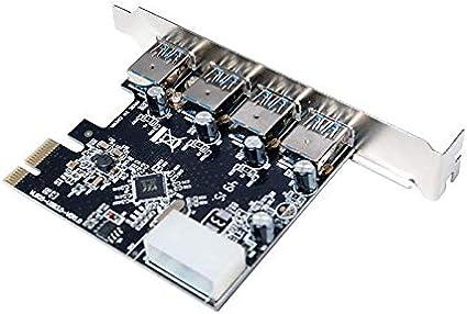 LogiLink PC0057A 4 x USB 3.0 PCI Express Card