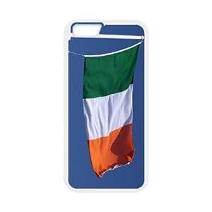 iPhone 6 4.7 Inch Cell Phone Case White Irish Flag 003 OQ7700638
