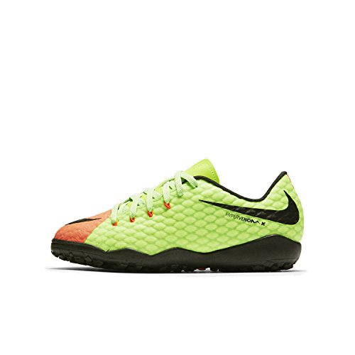 Price comparison product image Nike Jr. HypervenomX Phelon 3 Little/Big Kids' Turf Soccer Shoe