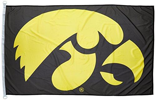 WinCraft NCAA Iowa Hawkeyes 3-by-5 foot Flag