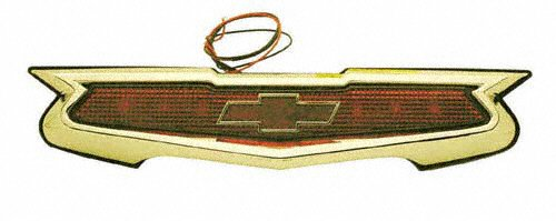 Classic Chevy Shield Style Third Brake Light Kit, Gold Finish, 12 Volt by Impala Bob's