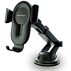 Our air vent car phone holder is universal and compatible with all models of smartphones and cases. The fully rotation of a Gootech cell phone car mount provides the best viewing angle. Gootech smartphone holder is easily installed and holds tightly,...