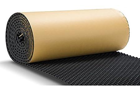 SOOMJ Sound Proof Padding,Soundproofing Foam Acoustic Eggcrate Design Car Noise Treatment Cotton Car Heatproof Foam Deadener 15.7x39.4 4.3sqft CHINA SOOMJ-UXY014-0410