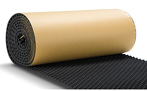 SOOMJ Studio Sound Acoustic Absorption Car Heatproof Foam Deadener 39.4''x196.9'' by SOOMJ