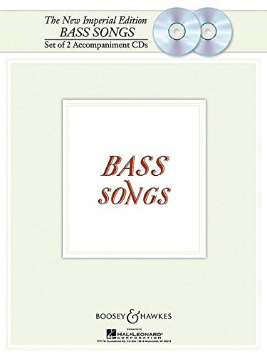 New Imperial Edition Bass Songs Set Of 2 Accompaniment CDs
