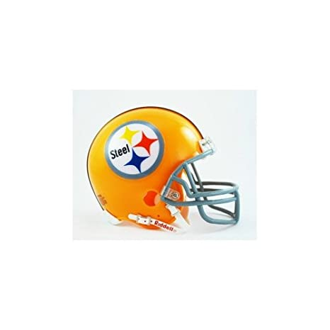 various colors acd1d ef838 Riddell Pittsburgh Steelers Authentic Mini Helmet