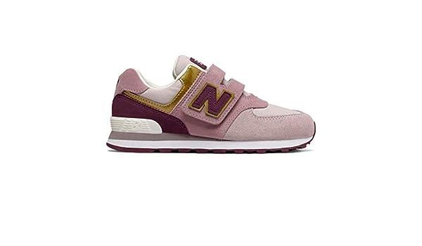 NEW BALANCE 574 Velcro 34.5 Morado: Amazon.es: Zapatos y