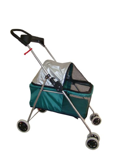 Teal Posh Pet Stroller by BestPet