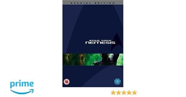 Star Trek 10 Nemesis Special Edition Reino Unido DVD: Amazon ...